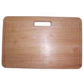 Dawn® Cutting Board in Natural Wood, 18-3/8'' W x 11-3/4'' D x 1-1/8'' H