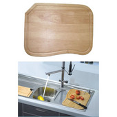 Dawn® Cutting Board in Natural Wood, 16'' W x 11-7/8'' D x 3/4'' H