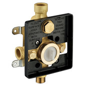 4-1/4''W x 2-29/32''D x 4-1/32''H, Pressure Balancing Diverter Valve (Rough In), Brass