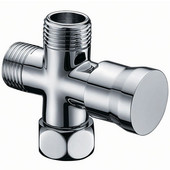 Push Pull Shower Arm Diverter, Chrome