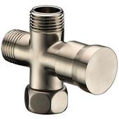 Push Pull Shower Arm Diverter, Brushed Nickel