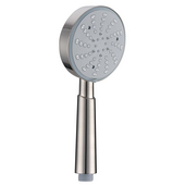 Multifunction Handshower with Shower Hose, 3 Spray Settings- Massage, Mist, Rain, Brushed Nickel