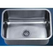Single Series Stainless Steel Undermount Sink, 25''W x 18-1/8''D x 10''H