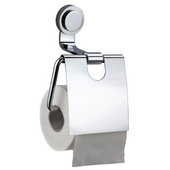 Button Series Toilet Roll Holder, Chrome