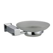 Square Series Soap Dish Holder, Satin Nickel