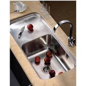 Single Series Stainless Steel Undermount Sink, 41-3/8''W x 19-3/4''D x 11-3/8''H