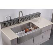 Apron Front Sink, 33''W x 20-3/4''D x 10-1/2''H