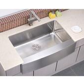 Apron Front Sink, 33''W x 22-1/4''D x 10-1/2''H