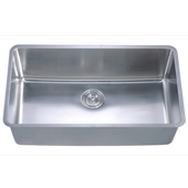 Dawn Sinks SIngle Bowl Sink, 32W x 18-1/2D x 10H