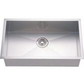 Dawn Sinks Single Bowl Sink, 33W x 18D x 10-1/2H