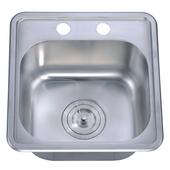 Dawn Sinks Bar Sink, 14-1/8''W x 15-1/4''D x 7-3/8''H
