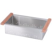 Dawn Sinks Colander, 17-1/4'' W x 9'' D x 4-1/2'' H