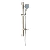 Multifunction Handshower with Shower Hose and Slide Bar, 3 Spray Settings- Massage, Rain, Mist, Brushed Nickel