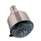 3-9/16''Diameter x 5-1/8''Depth, Multifunction Shower Head, Brushed Nickel