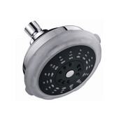 Multifunction Wall Mounted Shower Head, 3 Spray Settings- Massage, Rain, Chrome