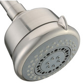 Multifunction Wall Mounted Shower Head, 3 Spray Settings- Massage, Rain, Bubble, Brushed Nickel
