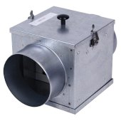 S&P Filter Box For 4'' Diameter Duct Connector with MERV8 Filter