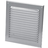 S&P Aluminum Exterior Fixed Grill, 4'' - 8'' Sizes Available