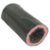 S&P Flexible Insulated Round Duct, 4'' - 10'' Sizes Available