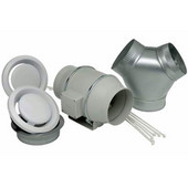 S&P TD Deluxe Exhaust Kit (Double Vent), Available in Multiple Versions