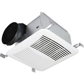 S&P 6'' Premium Choice Ceiling Mounted Fan - 80 cfm, 11-3/8''W x 10-1/2''D x 7-5/8''H