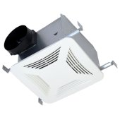S&P Premium Choice 6'' Ceiling Mounted Bathroom Fan with High Volume DC Motor, 200 CFM