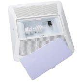 S&P Light Kit with LED Light For PC and PCD Bathroom Fans, Replaces Grille