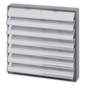S&P Aluminum Louver Shutter, 14'' - 20'' Sizes Available