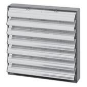 S&P Aluminum Louver Shutter, 14'' - 20'' Sizes Available
