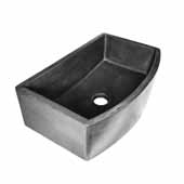 Farmhouse Quartet Kitchen Sink In Slate, 33''W X 20-1/2''D X 10-1/4''H