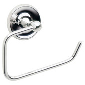 Villa Polished Chrome European Style Toilet Roll Holder 3''Depth