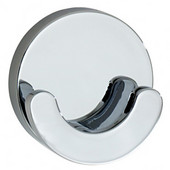 Loft Polished Chrome Double Towel Hook 2-1/8'' D