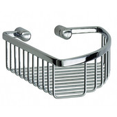 Loft Polished Chrome Single Soap Basket