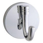 Studio Polished Chrome Bath Towel Hook 2-1/4'' D