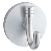 Studio Brushed Chrome Bath Towel Hook 2-1/4'' D