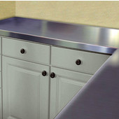 2'' Thick Stainless Steel Countertop, Flat Top, Available in Multiple Widths & Depths