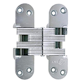 ® Invisible Hinge, UL Fire Rated Hinge for Wood or Metal, Alloy Steel Material, Satin Chrome Finish