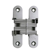 ® Invisible Hinge, UL Fire Rated Hinge for Wood or Metal, 316 Stainless Steel Material, Satin Stainless Steel Finish
