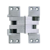 ® Invisible Hinge, 180 minute UL Fire Rated Hinge for Metal Doors, Alloy Steel Material, Satin Chrome Finish