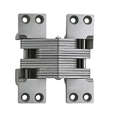 ® Invisible Hinge, 180 minute UL Fire Rated Hinge for Metal Doors, Stainless Steel Material, Satin Stainless Steel