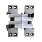 ® Invisible Hinge, 180 minute UL Fire Rated Hinge for Metal Doors, Alloy Steel Material, Clear Coat Unplated Finish