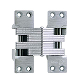 ® Invisible Hinge, 180 minute UL Fire Rated Hinge for Metal Doors, Alloy Steel Material, Satin Nickel Finish