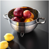 Stainless Steel Colander (9-3/4'' Dia. x 6'' H), Stainless Steel