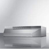 20'' Wide ADA Compliant Ductless Range Hood in Stainless Steel with Remote Wall Switch, 20'' W x 18'' D x 5'' H