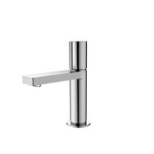 STYLISH International STYLISH™ Small Single Handle Modern Bathroom Basin Sink Faucet in Polished Chrome, Faucet Height: 7''