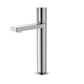 STYLISH International STYLISH™ Large Single Handle Bathroom Vessel Sink Faucet, Polished Chrome Finish, Faucet Height: 12-1/2''