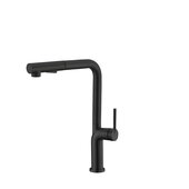 STYLISH International STYLISH™ Kitchen Sink Faucet Single Handle Pull Down Dual Mode In Matte Black Finish, Spout Reach: 8-5/16'', Faucet Height: 13-1/8''