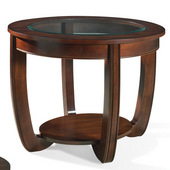 London End Table, Cherry Finish