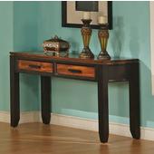 Abaco Sofa Table, Acacia Finish