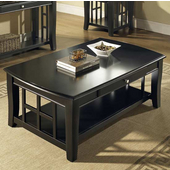 Cassidy Cocktail Table, Black Finish